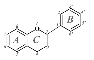 Representation of the basic chemical structure for a hydroxycinnamic acid-based compound. Specific compounds are classified on the basis of number and position of substituents and hydroxylation patterns