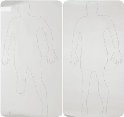 Body tracing test